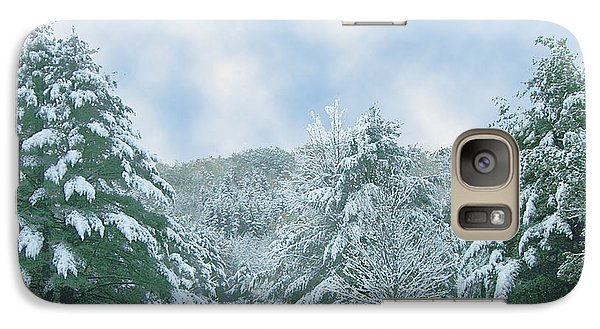 Galaxy Case featuring the photograph Winter Wonderland In The South by Michael Waters