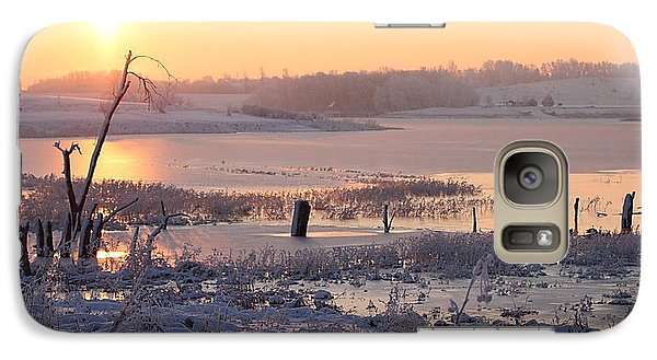 Galaxy Case featuring the photograph Winter's Morning by Elizabeth Winter