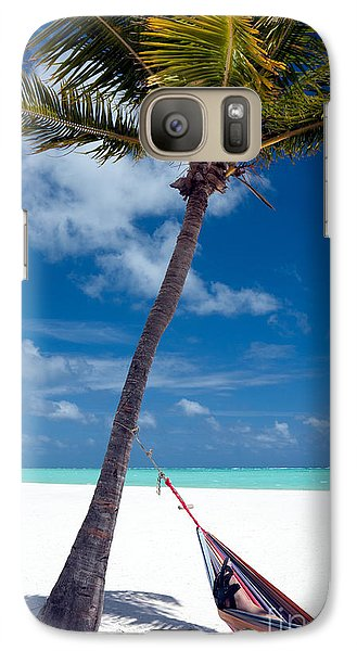 Galaxy Case featuring the photograph Wish You Were Here by Karen Lee Ensley