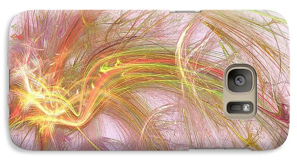 Galaxy Case featuring the digital art Wispy Willow by Kim Sy Ok