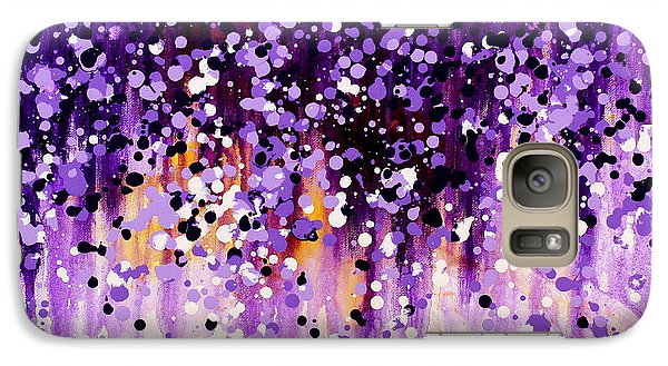 Galaxy Case featuring the painting Wisteria by Kume Bryant