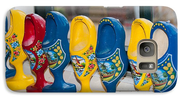 Galaxy Case featuring the digital art Wooden Shoes by Carol Ailles