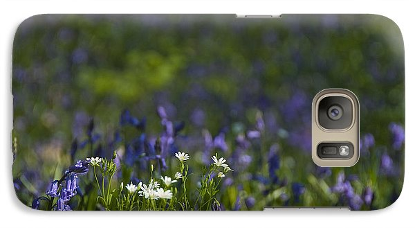 Galaxy Case featuring the photograph Woodland Flowers by Trevor Chriss