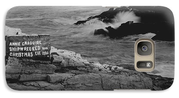 Galaxy Case featuring the photograph Wreck Site by Rick Frost