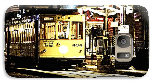 Galaxy Case featuring the photograph Ybor Train by Angelique Olin