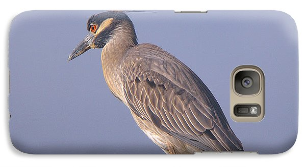 Galaxy Case featuring the photograph Yellow Crowned Night Heron by Brian Wright