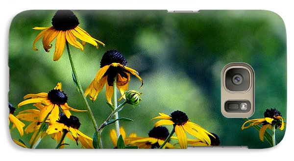 Galaxy Case featuring the photograph Yellow Petals by Elizabeth Coats