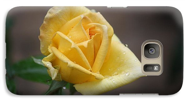 Galaxy Case featuring the photograph Yellow Rose Of Texas by Donna  Smith