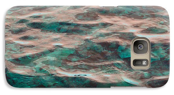 Galaxy Case featuring the photograph Yellowstone Abstract by Cindy Lee Longhini
