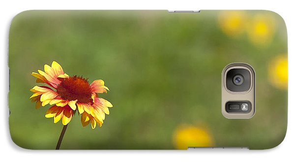 Galaxy Case featuring the photograph Yep...a Flower by John Crothers