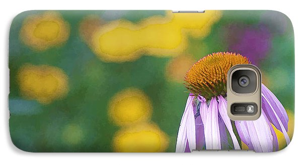 Galaxy Case featuring the photograph Yet Another Flower by John Crothers
