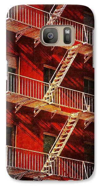 Galaxy Case featuring the photograph York Avenue by Deborah Smith