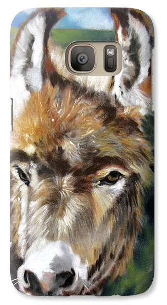 Galaxy Case featuring the painting You Want To Pin The Tail On The What by Rae Andrews