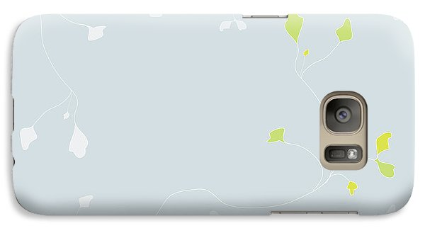 Galaxy Case featuring the digital art Young Poppy by Kevin McLaughlin