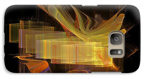 Galaxy Case featuring the digital art You've Got A Message by Sipo Liimatainen