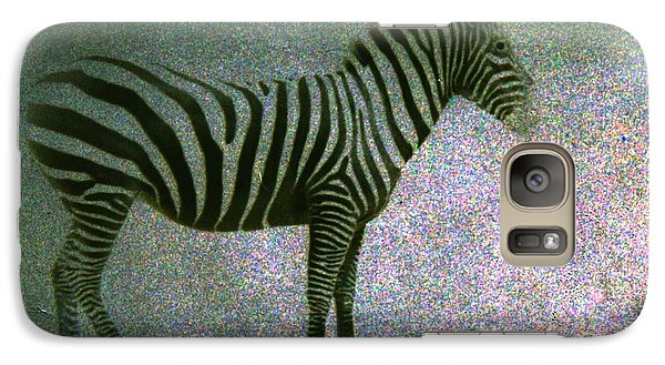 Galaxy Case featuring the photograph Zebra by Kelly Hazel