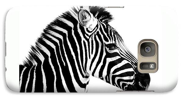 Galaxy Case featuring the photograph Zebra by Rebecca Margraf