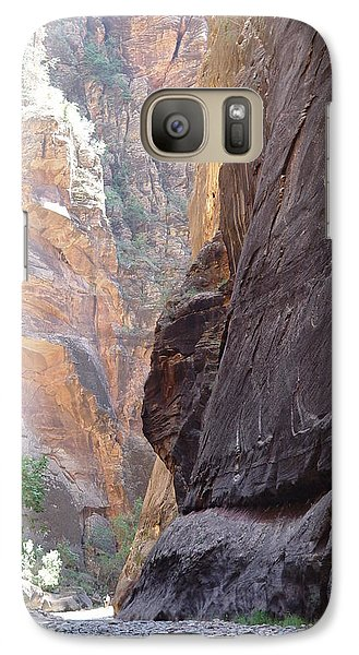 Galaxy Case featuring the photograph Zion Awe by Elizabeth Sullivan