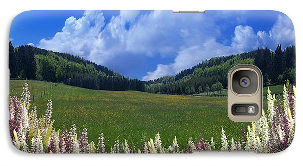 Galaxy Case featuring the photograph  A Beautiful View by Bernd Hau