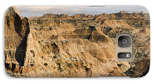 Galaxy Case featuring the photograph  Badlands South Dakota by John Hix