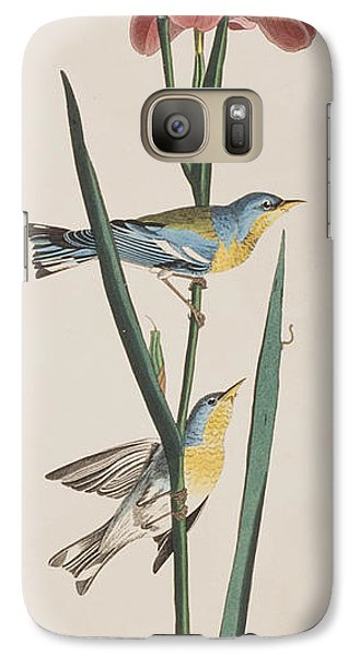 Blue Yellow-backed Warbler Galaxy S7 Case