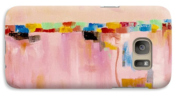 Galaxy Case featuring the painting  Blush by Suzzanna Frank
