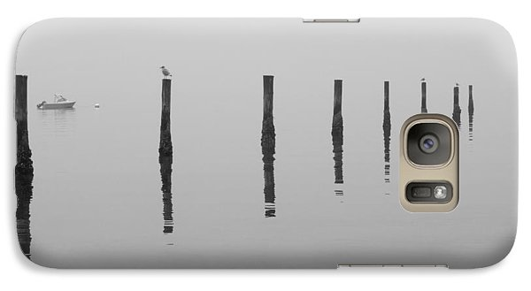 Galaxy Case featuring the photograph Fog And Reflections by Christina Lihani
