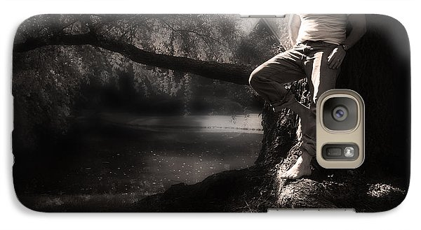 Galaxy Case featuring the photograph ... by Gray  Artus