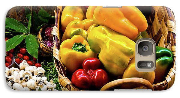 Galaxy Case featuring the photograph  Italian Peppers  by Harry Spitz