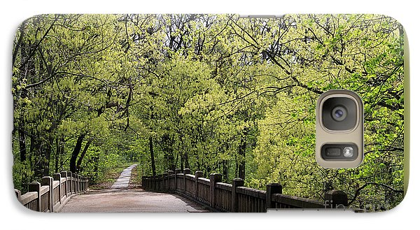 Galaxy Case featuring the photograph  Matthiessen State Park In Spring by Paula Guttilla