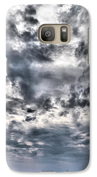 Galaxy Case featuring the photograph  Mental Seaview by Jouko Lehto