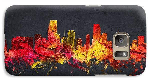 Miami Cityscape 07 Galaxy S7 Case