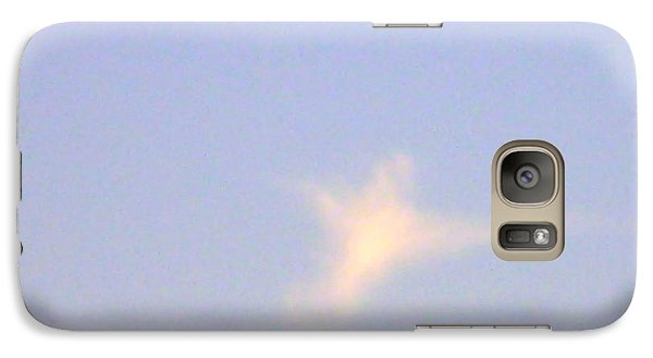 Galaxy Case featuring the photograph  Natural Dove Cloud by Robin Coaker