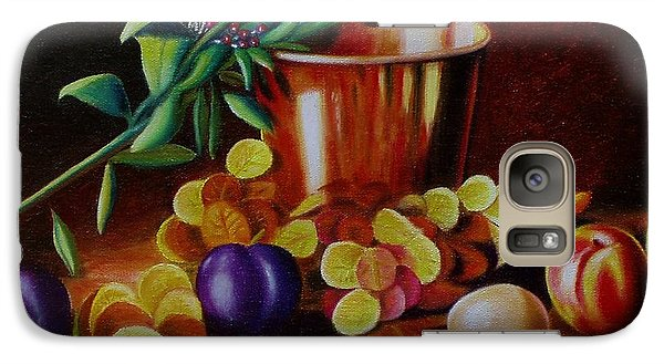 Galaxy Case featuring the painting  Pail Of Plenty by Gene Gregory