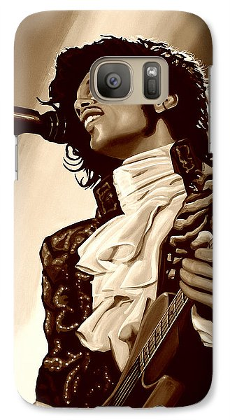 Rhythm And Blues Galaxy S7 Case -  Prince The Artist by Paul Meijering