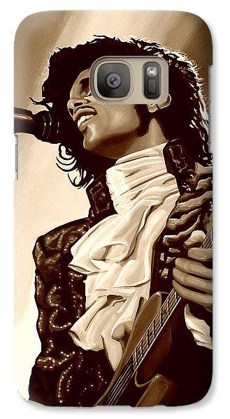 Prince The Artist Galaxy Case by Paul Meijering