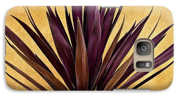Desert Galaxy S7 Case -  Purple Giant Dracaena Santa Fe by John Hansen