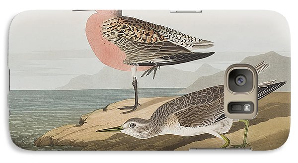 Red-breasted Sandpiper  Galaxy Case by John James Audubon