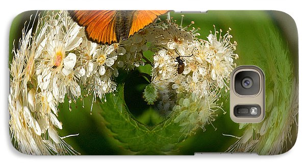 Galaxy Case featuring the photograph  Scarce Copper 3 by Jouko Lehto