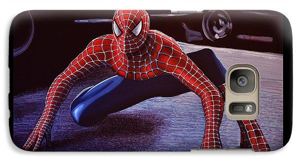 Spider Galaxy S7 Case -  Spiderman 2  by Paul Meijering