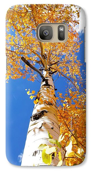 Galaxy Case featuring the photograph  The Aspen Crown Dixie National Forest Utah by Deborah Moen