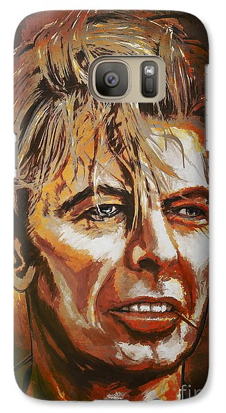 Galaxy Case featuring the painting  Tribute To David by Andrzej Szczerski