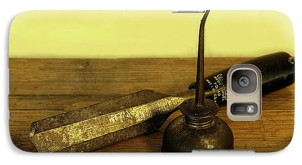 Galaxy Case featuring the photograph  Wood Chisel No.40. by Viktor Savchenko