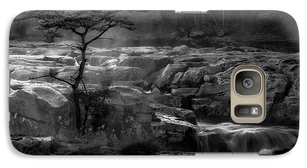 Galaxy Case featuring the photograph  Wood by Hayato Matsumoto