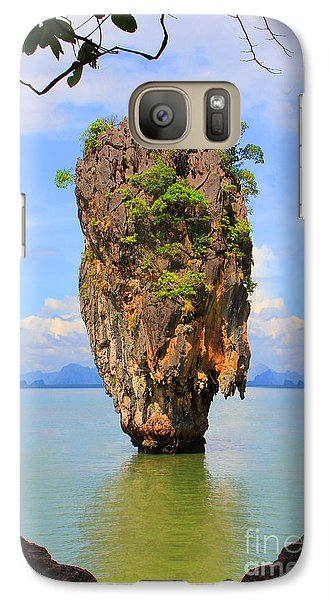 Venice Beach Galaxy S7 Case - 007 Island by Mark Ashkenazi