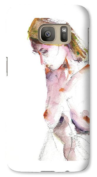 Galaxy Case featuring the drawing Rcnpaintings.com by Chris N Rohrbach