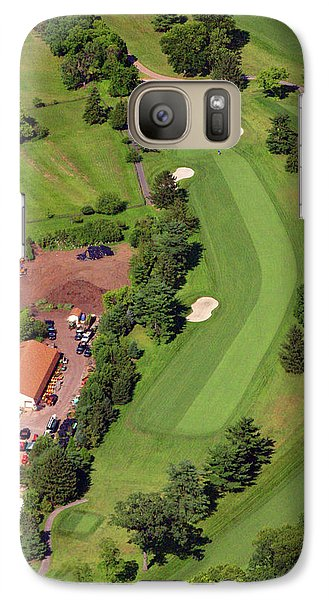 Galaxy Case featuring the photograph 14th Hole Sunnybrook Golf Club by Duncan Pearson