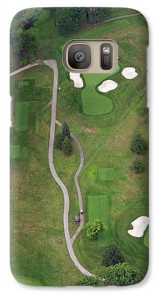 Galaxy Case featuring the photograph 15th Hole Sunnybrook Golf Club by Duncan Pearson