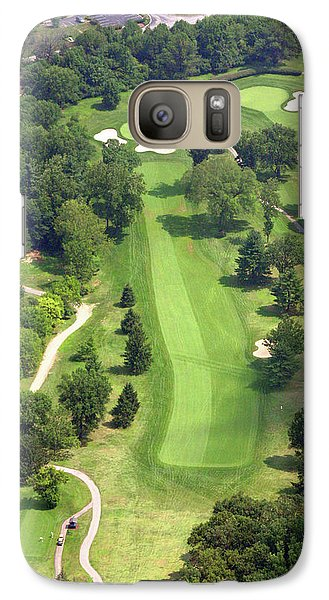 Galaxy Case featuring the photograph 16th Hole Sunnybrook Golf Club by Duncan Pearson