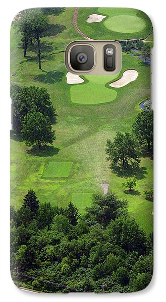 Galaxy Case featuring the photograph 17th Hole Sunnybrook Golf Club by Duncan Pearson
